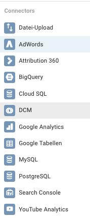Datenquellen Google Data Studio in österreich- freshestweb